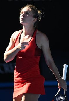 Simona Halep, Australian Open 2018 French Open, Wimbledon, Rod Laver Arena, Simona Halep, Tennis Legends, Tennis Players Female, First Round, Australian Open, Opening Day