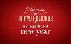 Yopps - Best Wishes For Happy Holidays and a Magnificent New Year