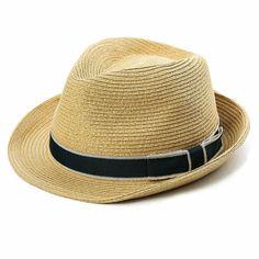 e57e1dfc61da75 Summer Fedora Panama Beach Hats Men Women Straw Sun Hats Short Brim Casual  Fo.