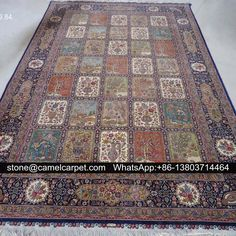 2x3m oriental silk carpet,handmade