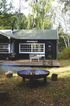 Garden Furniture, Outdoor Furniture, Outdoor Decor, Small Summer House, Beach Cottage Style, Minimal Home, Outdoor Retreat, Nordic Home, Swimming Pool Designs