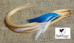 Blonde and Feather ITip Tresses By BethKaya by BethKaya on Etsy, $35.00