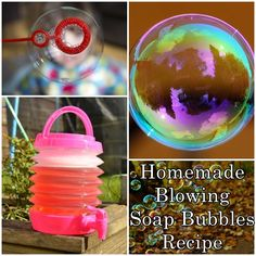 Homemade Blowing Soap Bubbles Recipe Homesteading  - The Homestead Survival .Com