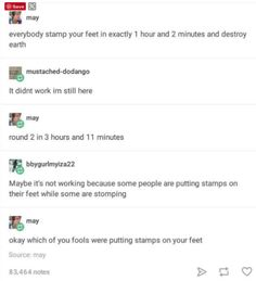 oh god this killed me IM DYING XD i feel like this is a conversation between Percy Jason and Annabeth XD Funny Tumblr Posts, My Tumblr, Really Funny, The Funny, Freaking Hilarious, Funny Stuff, Random Stuff, Funny Things, Random Things