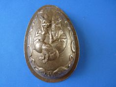 Antique Chocolate Egg Mold Mould Anton Reiche | eBay