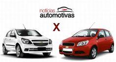 Comparativo: Chevrolet Agile x Chevrolet Aveo – Dois compactos da GM na contramão