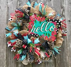 Hello Leopard by Holiday Baubles