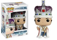Funko Pop Tv: Sherlock - Crown Jewel Moriarty Limited Edition: Amazon.co.uk: Toys & Games