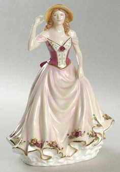 Royal Albert Figurines of the Year - OLD COUNTRY ROSE-2009