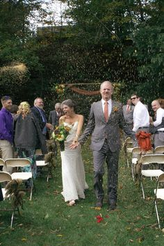 Shaffer Wedding in the woods - Oct 2014