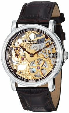 Stuhrling Original Men's 460G.3315K31 Classic Delphi Avon Mechanical Skeleton Brown Leather Strap Watch Stuhrling Original http://www.amazon.com/dp/B00B591N6U/ref=cm_sw_r_pi_dp_xbtLtb1K0YBP5PKV