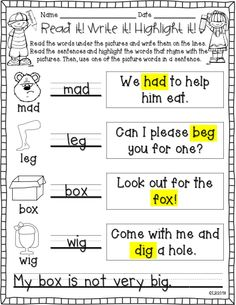 These 16 fun sheets will help your students practice rhyming words. Perfect for small group, whole group, stations, interventions, homework, and assessments!