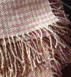 Handwoven Lambswool Throw 140 x 170 cms x 432 in + fringes, traceable organic lambswool, natural white and coloured with mushrooms (C. Hand Weaving, Southern, Colours, Wool, Blanket, Hand Knitting, Blankets, Cover, Sweater Blanket