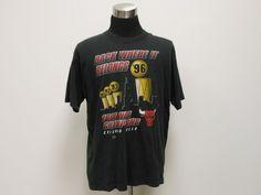Vtg 1996 Pro Player Chicago Bulls Finals Champions 4 rings T shirt sz XL Jordan #ProPLayer #ChicagoBulls #tcpkickz