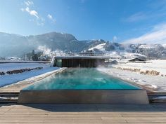 Rooftop Pool – Hotel Schwarzer Adler, Kitzbuhel