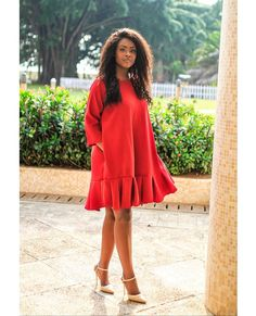 Short African Dresses, Latest African Fashion Dresses, Short Gowns, Dresses For Pregnant Women, Dress Shirts For Women, Classy Dress, Classy Outfits, Shift Dress Outfit, English Dress