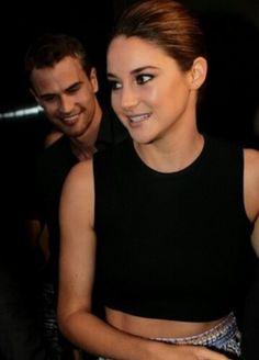 Theo James and Shai Woodley