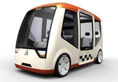 Prague Taxi Car Concept