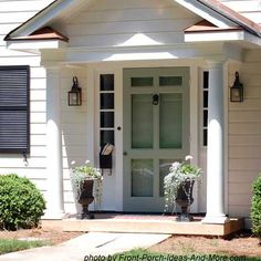 Find and save ideas about Front porch design ideas. See more ideas about Front porch remodel, Front porches and Front porch addition. Front Door Porch, Front Stoop, Front Porch Design, Porch Roof, Porch Designs, Front Doors, Front Entry, Entry Doors, Front Porch Pictures