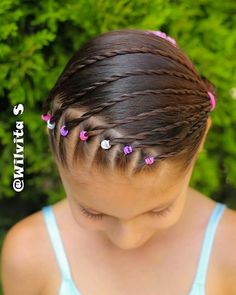 Hairstyle 、Braided Hairstyle、Children、Kids、For School、Little Girls、Children's Hairstyles、For Long Hair、Cute Child、Child Photography Childrens Hairstyles, Baby Girl Hairstyles, Kids Braided Hairstyles, Pretty Hairstyles, Curly Hair Styles, Natural Hair Styles, Girl Hair Dos, Hair Due, Braids For Kids