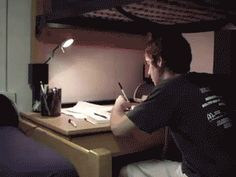 Finals Season as told by GIF's | http://www.survivingcollege.com/finals-season-told-gifs/