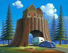 Treehouse | Illustrator: Robert LaDuke - http://www.flickr.com/photos/14394050@N02