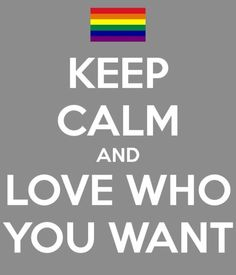 Love Who You Want!
