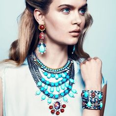 Women's Jewelry in Dannijo Spring-Summer 2013 Campaign (4)