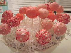 cake pops by miss bre & miss bailey!