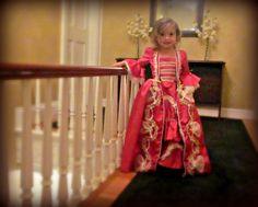 Renaissance Gown Custom Princess Toddler Girls Dress