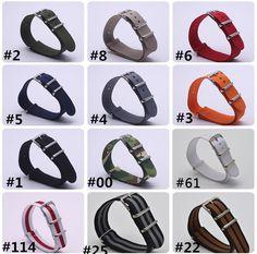 >> Click to Buy << 2017 new brand watch strap Watchband 1pcs Nato Strap 22mm Nylon Watch Band Waterproof Watch Strap #Affiliate