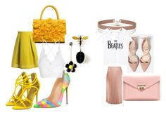 """Untitled #2"" by mneayen on Polyvore featuring Sans Souci, Miss Selfridge and MANGO"