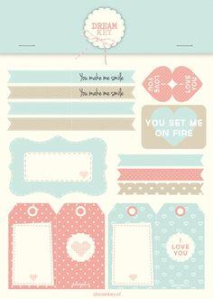 Printable   Labels voor je geliefde