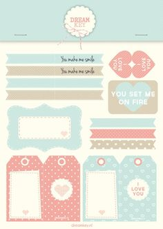 Printable | Labels voor je geliefde