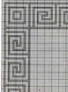 ana faz das suas Tapestry Crochet, Crochet Motif, Crochet Patterns, Cross Stitching, Cross Stitch Embroidery, Cross Stitch Patterns, Tapetes Diy, Tiny Cross Stitch, Swedish Embroidery