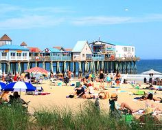 Old Orchard Beach Maine with Historic Pier: http://beachblissliving.com/best-beach-towns-united-states/
