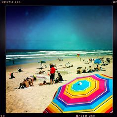 Beach umbrella, Surfers Paradise