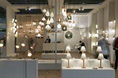 Light + Building 2016 Lighting Showroom, Lighting Store, Showroom Interior Design, Light Building, Retail Store Design, Exhibitions, Lighting Design, Lamps, Workshop