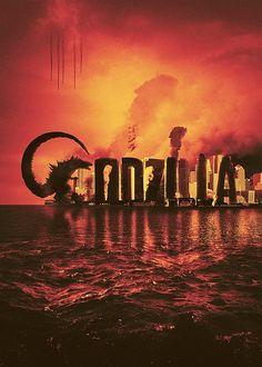 Godzilla by Bernie Jezowski