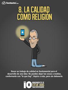La calidad como religión #Stevejobs