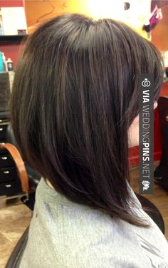 So good! - Long Bob Hairstyles 2016 Pics of Long Swing Bob | Repinned via Brooke…
