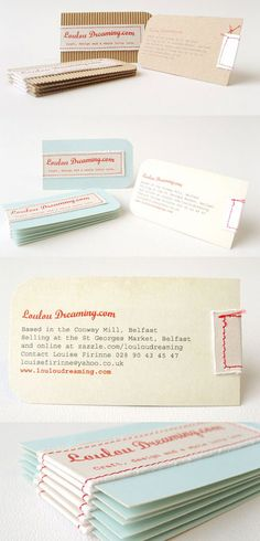 Loulou Dreaming Business Card
