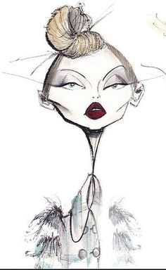 jamie lee reardin, brilliant, fashion illustrator