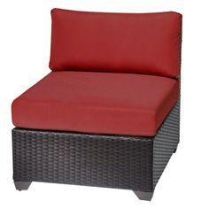 TK Classics Barbados Side Chair Fabric: Terracotta