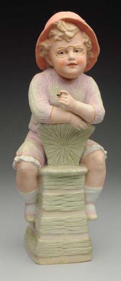 Lot # : 312 - Gebr. Heubach Boy Figurine.