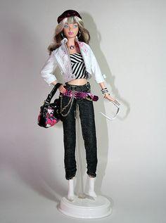 Hello Kitty Barbie by marsonico, via Flickr
