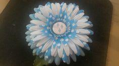 My little pony flower clip