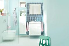 Wandfarben fürs Badezimmer: Helles Grün ist jung und natürlich