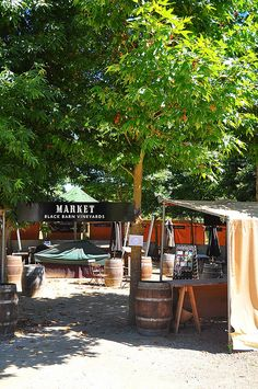 Market Black Barn Vineyards, Havelock North, Hawkes Bay, New Zealand Havelock North, Traditional Market, Black Barn, Street Vendor, Pot Of Gold, Goods And Services, Farms, New Zealand, The Good Place