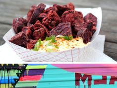 Top 5 favorite things to eat, hands down: Fried Beets from the East Side King trailer behind the Liberty. Don't leave Austin without eating this first!